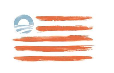 This is what the Obama campaign wants our flag to look like.
